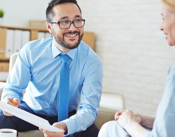 NICKs Developments specialist providing guidance to a customer