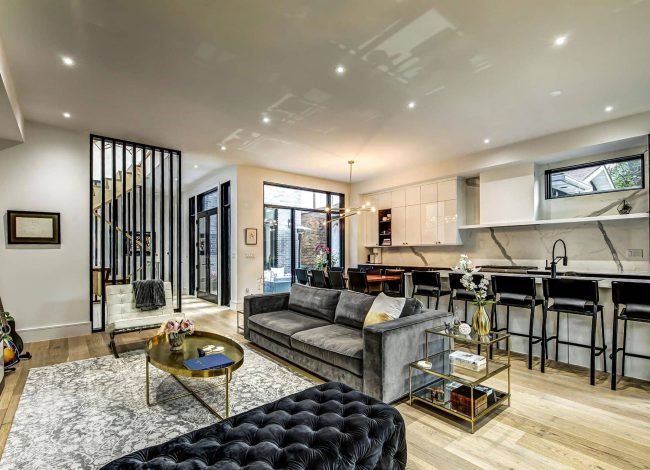 Amazing Family Room in Custom Home - Home Renovation Toronto