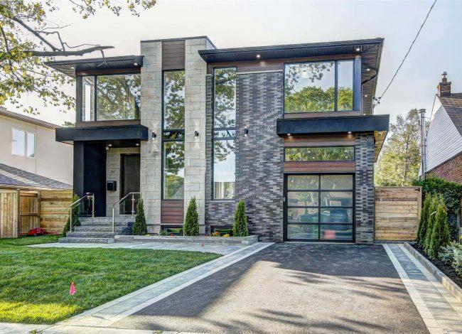 Luxury Stone Siding on Custom Home