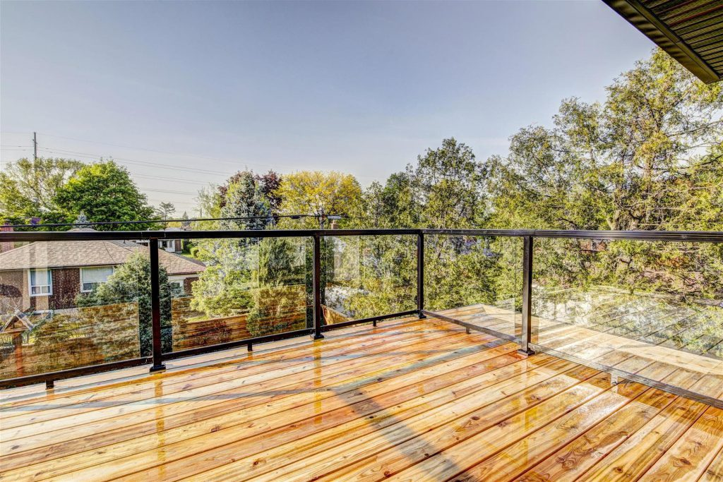 Second Floor Deck Addition