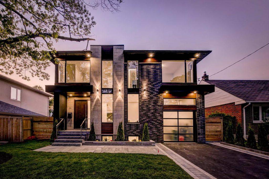 custom home by nicks developments - modern custom home builders