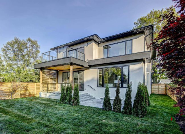 Custom Home with Amazing Backyard