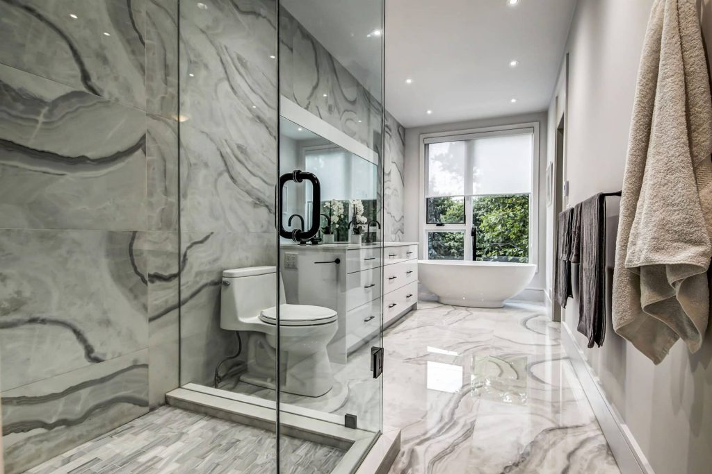 Amazing Bathroom Renovation by Nicks Developments - Home Renovation Services Toronto