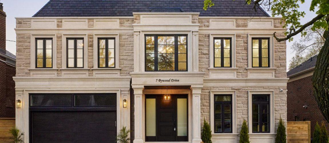 Classic Custom Home Build by Nicks Developments - Custom Home Builders Mississauga