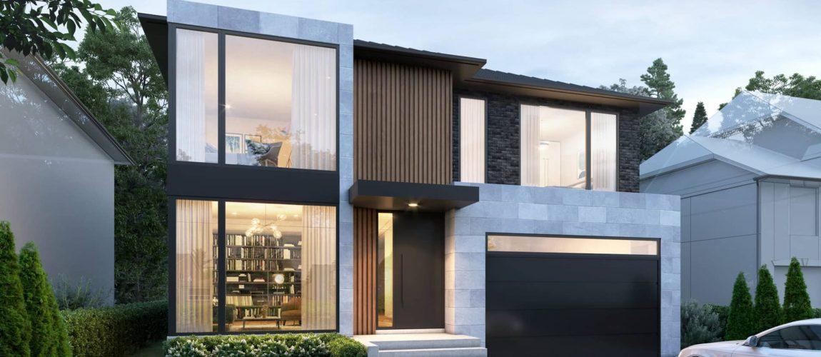 Modern Home Exterior Design by Nicks Developments - Design Build Toronto