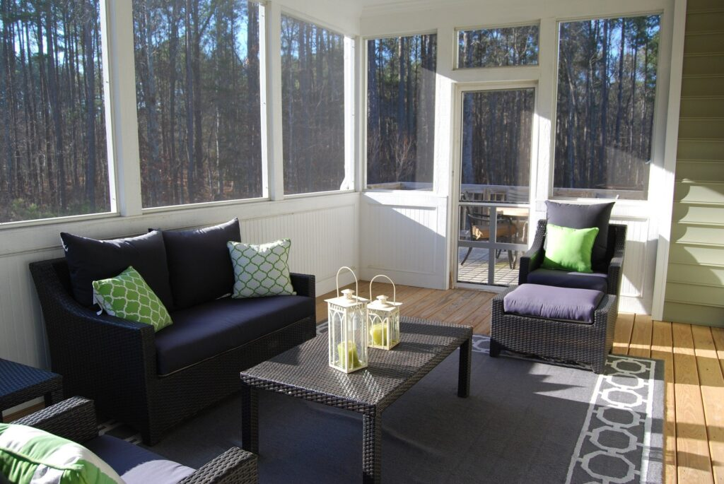 Second Floor Sun Room Addition