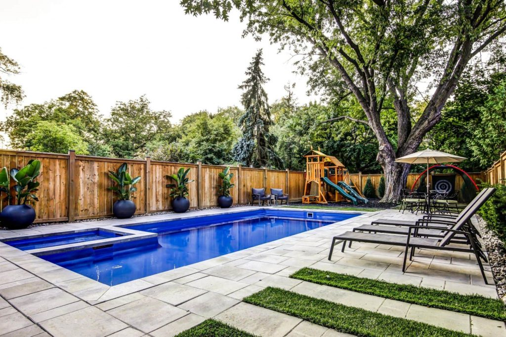 Custom Swimming Pool Project by Nicks Developments -  General Contractors Toronto