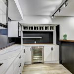 luxury-kitchen-with-glass-cabinets-and-build-in-mini-fridge-kitchen-renovation