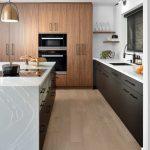 luxury kitchen with wooden floor - kitchen designers toronto