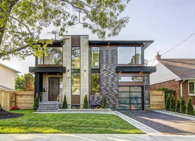 Modern Custom Home Exterior Renovation Services