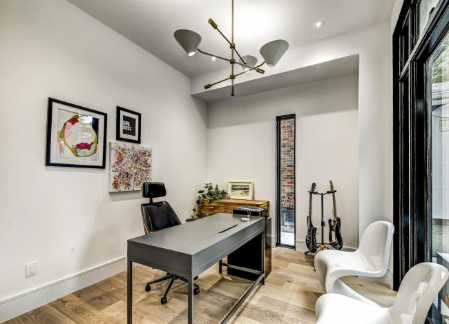 Small Home Office by Nicks Developments - Interior Designer Toronto